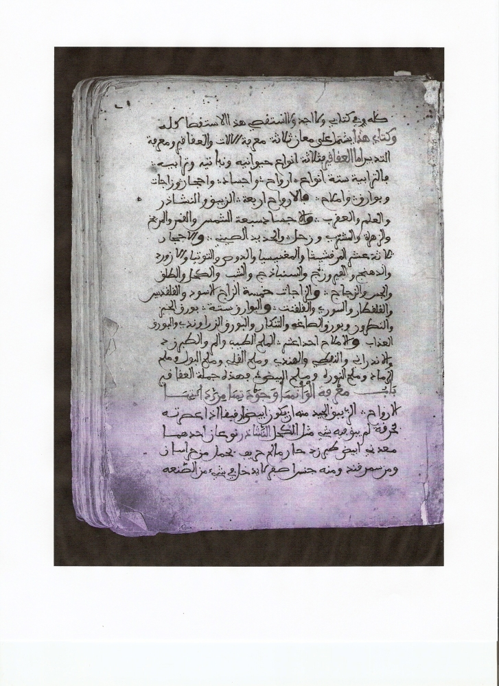 Thesis : Al-Razi's Book of Secrets (2/3)