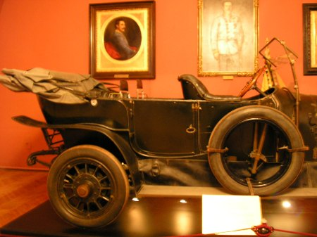 The phaeton which carried the couple was open to the crowd. Heeresgeschichtliches Museum, Vienna, 2008.