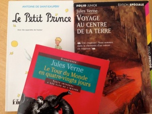 Try reading some old favorites in the original language. Many can be found on line. (gt).