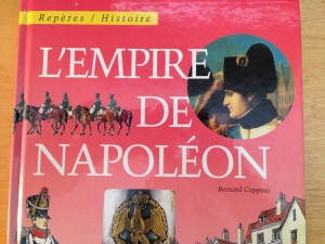 """You might not know the French word for """"empire,"""" but you can still read this title!"""