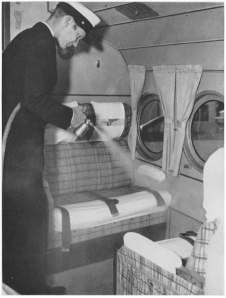 1940: Insecticide sprayer used in some airplanes.