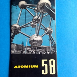 The Atomium was a huge edifice at the entry to the 1958 Brussels World Fair