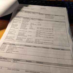 Having a portable legible printout of the patient visit can be comforting as well as useful.