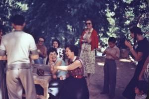 Picnics were fun all day. Shemran, 1956.