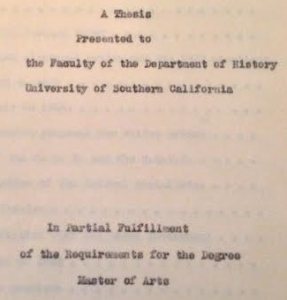 As a typewritten document, this thesis was consigned to the dresser drawer.