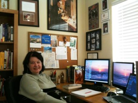 Gail at desk (1)
